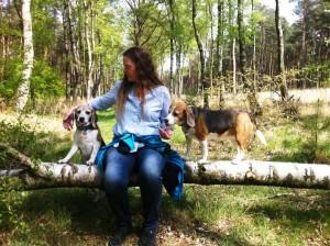 Diana mit Hunde
